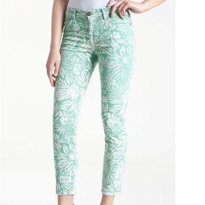 DVF LOVES CURRENT/ELLIOTT Classic Skinny Jeans